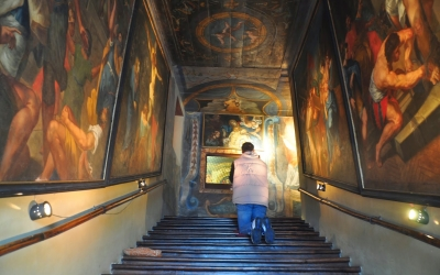 Scala Santa di Campli