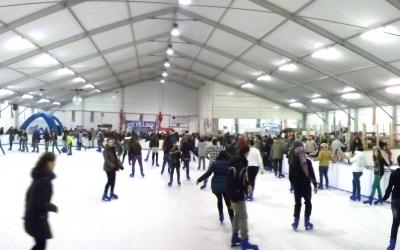 pattinaggio sul ghiaccio a Rimini