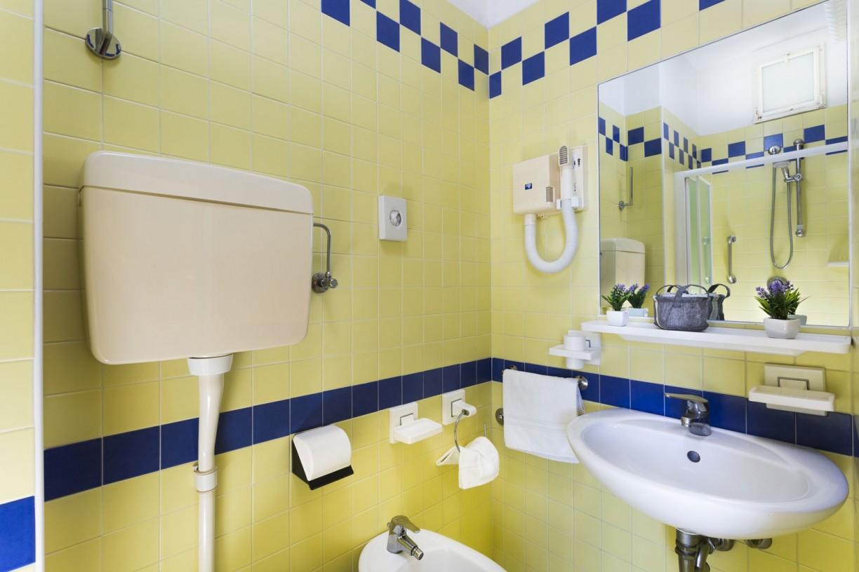 Bagno camera Singola con balcone