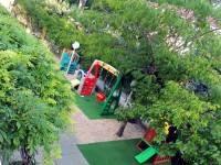 Glicine, acacia mimosa e albicocco, l'area giochi...vista dall'alto!