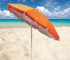 Ombrellone sulla spiaggia libera