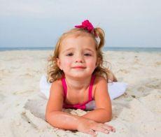 Festival dei bambini sulla spiaggia di Riccione