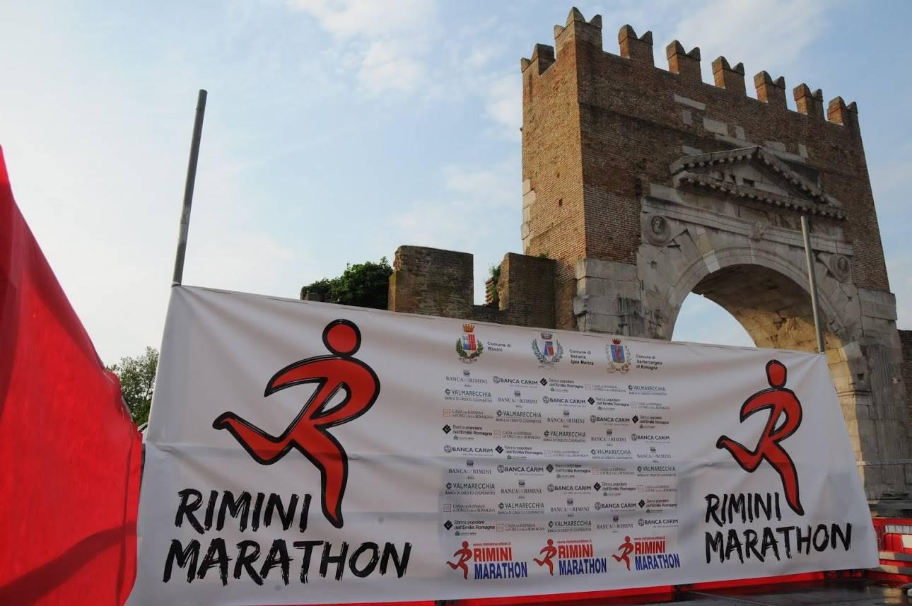 Maratona all'Arco d'Augusto di Rimini