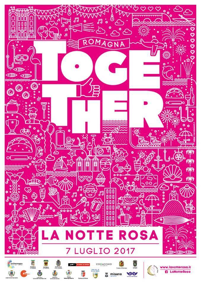 TogethER, Notte Rosa 2017