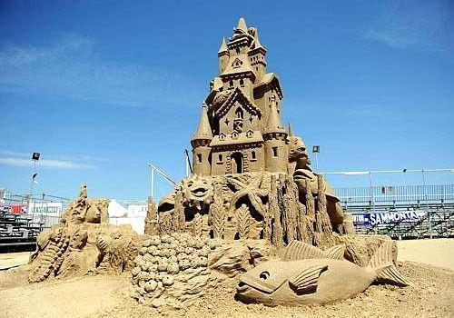 Sculture di Sabbia a Cervia, World Master 2017