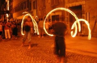 Spettacoli in strada nella Notte Bianca