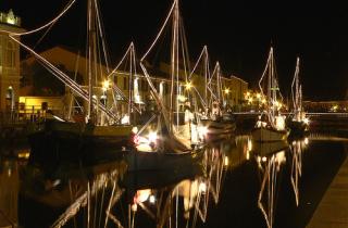 Natale 2008 a Cesenatico, nel cuore della Romagna