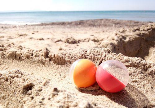 Biglie da spiaggia