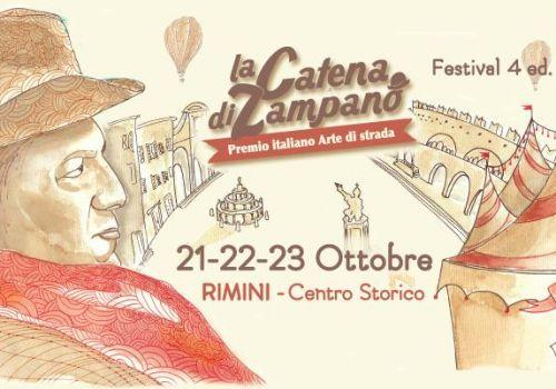 Catena di Zampanò, premio degli artisti di strada a Rimini
