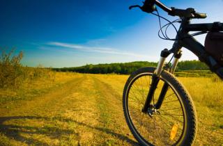Bicicletta su sentiero
