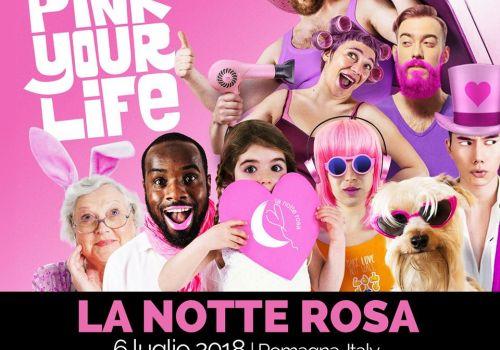 Notte Rosa 2018 a Rimini