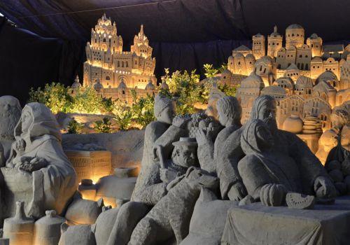 Presepe di Sabbia a Rimini, uno spettacolo affascinante