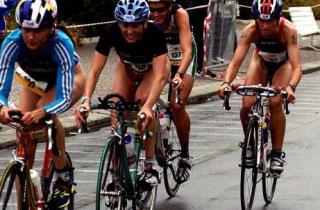 Duathlon a Rimini, atleti