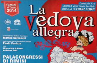 Capodanno in lirica a Rimini: La Vedova Allegra
