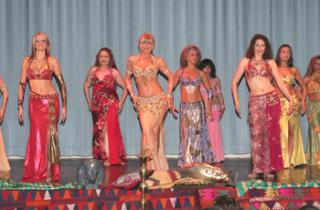 Danzatrici del ventre e danze orientali a Riccione