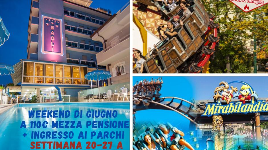 Super Offerta 16 > 23 Giugno a Rimini: Settimana  All Inclusive !