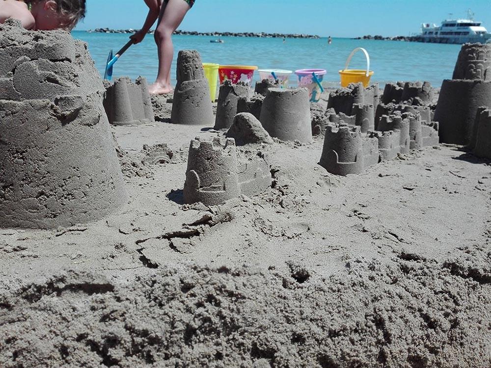 Servizi in spiaggia