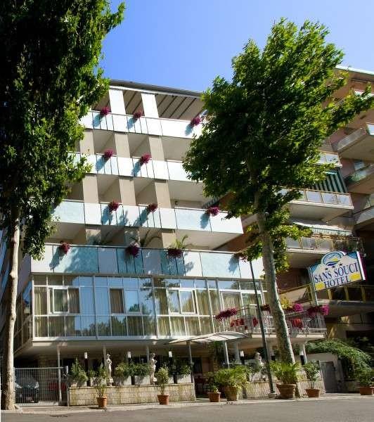 Hotel Sans Souci - Facciata esterna