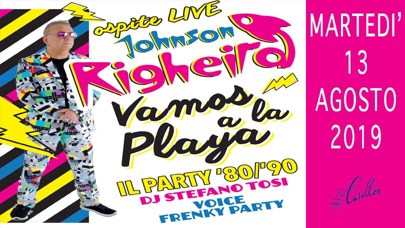 OSPITE LIVE RIGHEIRA... VAMOS A LA PLAYA!!!