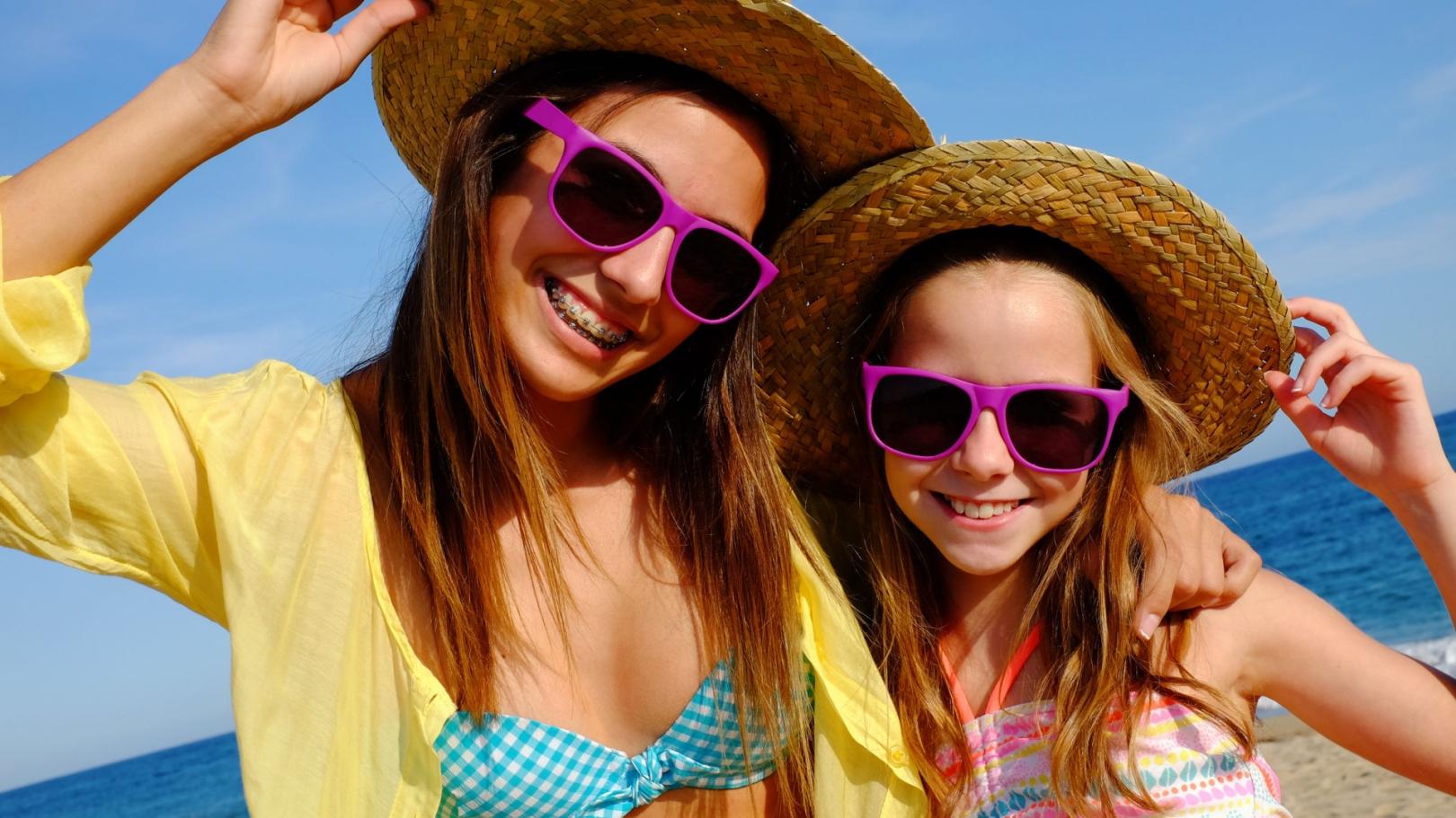 Vacances à la plage en juin